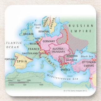 Mapa ilustrado de Europa Posavaso