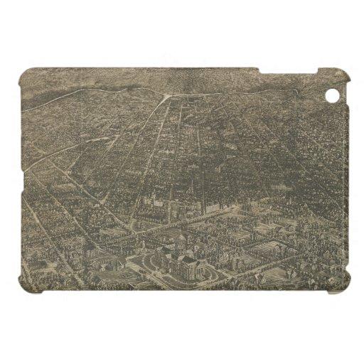 Mapa ilustrado del vintage de Denver Colorado (188 iPad Mini Protector