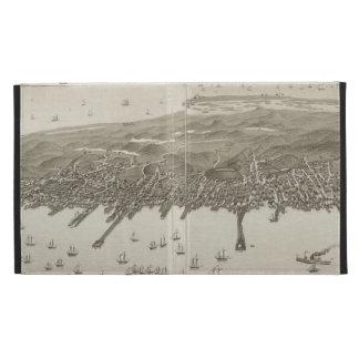 Mapa ilustrado del vintage de Provincetown (1882)