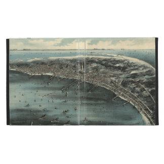 Mapa ilustrado del vintage de Provincetown (1910)