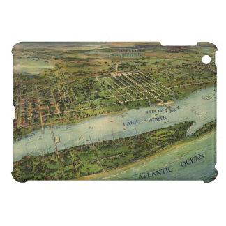 Mapa ilustrado del vintage de West Palm Beach (191 iPad Mini Coberturas