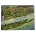 Mapa ilustrado del vintage de West Palm Beach (191 Pizarras Blancas De Calidad