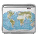 Mapa ilustrado funda para iPads