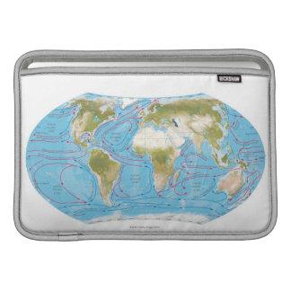 Mapa ilustrado fundas MacBook