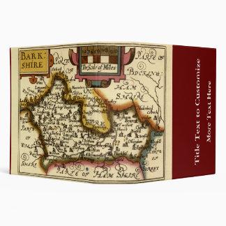 """Mapa inglés viejo del condado por la velocidad de carpeta 2"""""""