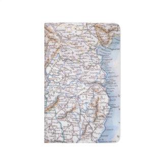 Mapa: Irlanda, 1851 Cuadernos