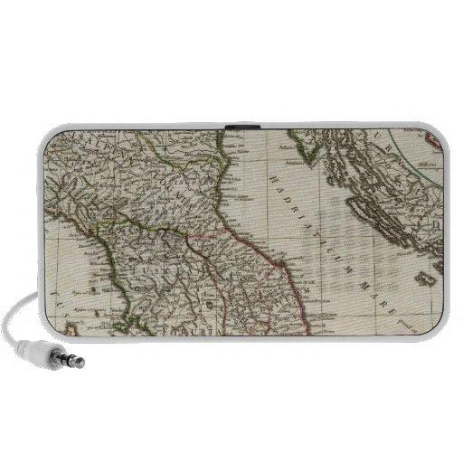 Mapa italiano clásico iPhone altavoces