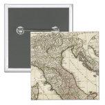 Mapa italiano clásico pins