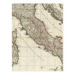 Mapa italiano clásico postal