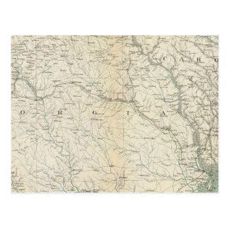 Mapa IX de la GEN Tarjeta Postal