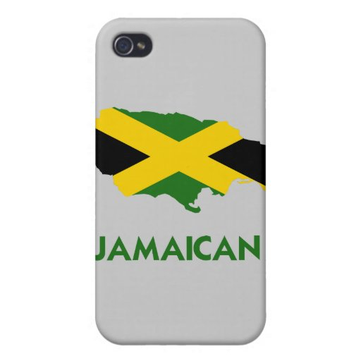 MAPA JAMAICANO iPhone 4/4S FUNDA