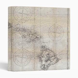 """Mapa japonés 1939 del Pearl Harbor de Hawaii Carpeta 1"""""""