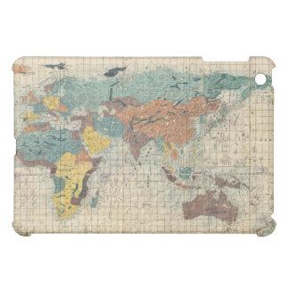 Mapa japonés del vintage del mundo 1