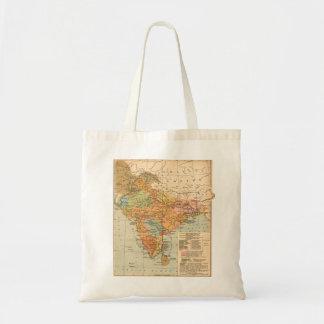 Mapa - la India Bolsas