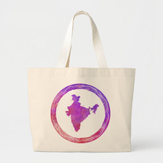 Mapa la India Bolsa De Mano