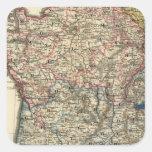 Mapa lingüístico de Francia Colcomanias Cuadradas