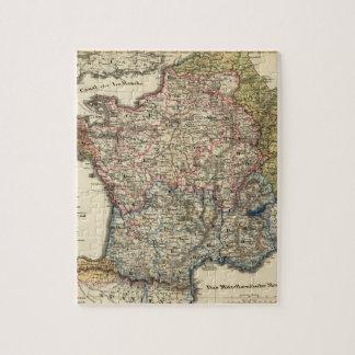 Mapa lingüístico de Francia Puzzle