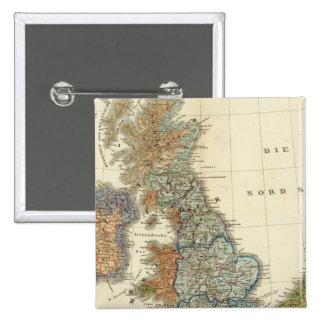 Mapa lingüístico de islas británicas pins