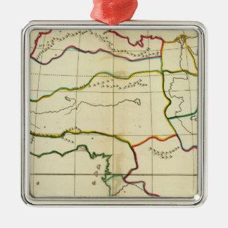 Mapa llano África Ornamentos De Reyes