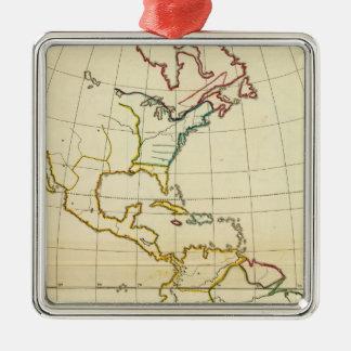 Mapa llano América Adorno De Navidad