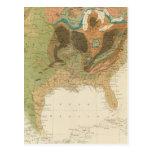 Mapa los E.E.U.U. de Geol Postal