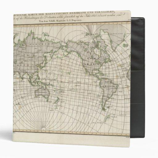 Mapa magnético del mundo