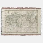 Mapa magnético del mundo manta