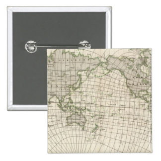 Mapa magnético del mundo pins