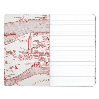 MAPA: MANHATTAN, c1935 Cuadernos