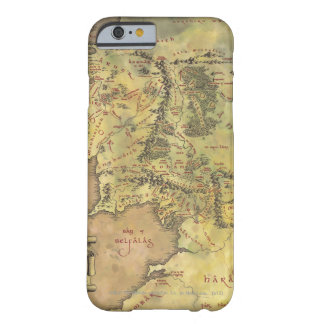 Mapa MEDIO de EARTH™ #2 Funda Para iPhone 6 Barely There