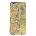 Mapa medio de la tierra #2 funda de iPhone 6 barely there