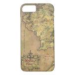 Mapa medio de la tierra funda iPhone 7