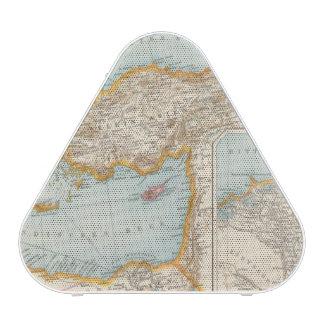 Mapa mediterráneo oriental altavoz