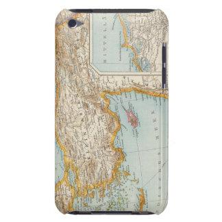 Mapa mediterráneo oriental iPod Case-Mate cobertura