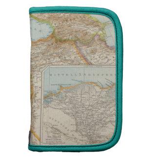Mapa mediterráneo oriental planificador