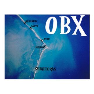 Mapa meridional de OBX Postal