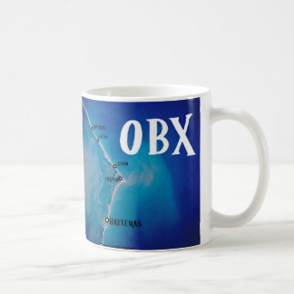 Mapa meridional de OBX Taza De Café