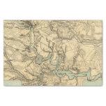 Mapa militar de Hughes de Richmond y de