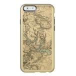 Mapa militar de Hughes de Richmond y de Funda Para iPhone 6 Plus Incipio Feather Shine