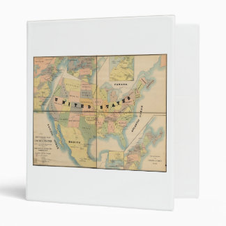 """Mapa militar histórico de los Estados Unidos 1890 Carpeta 1"""""""