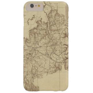 Mapa militar nacional de Tennessee del parque de Funda De iPhone 6 Plus Barely There