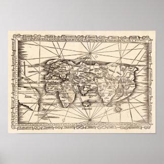 Mapa moderno de las fritadas del mundo, Laurent 15 Posters