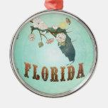 Mapa moderno del estado de la Florida del vintage  Ornamentos De Reyes