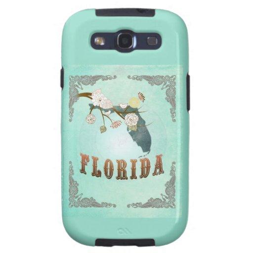 Mapa moderno del estado de la Florida del vintage  Samsung Galaxy S3 Protector