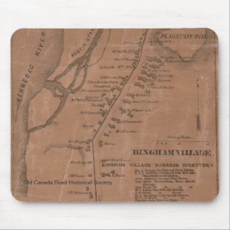 Mapa Mousepad de Bingham 1860
