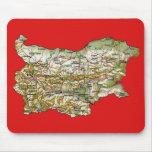 Mapa Mousepad de Bulgaria