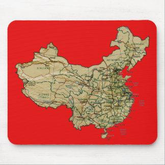 Mapa Mousepad de China Tapete De Raton