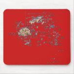 Mapa Mousepad de Fiji Alfombrillas De Raton