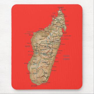 Mapa Mousepad de Madagascar