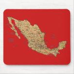 Mapa Mousepad de México